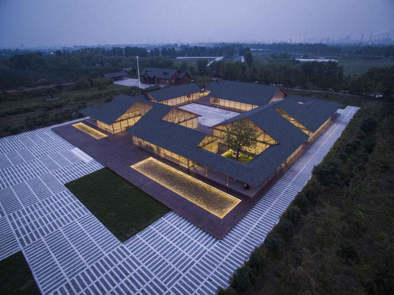 طراحی کارگاه تولید موادغذایی ارگانیک Tangshan ؛ استودیو معماری آرک ARCHSTUDIO