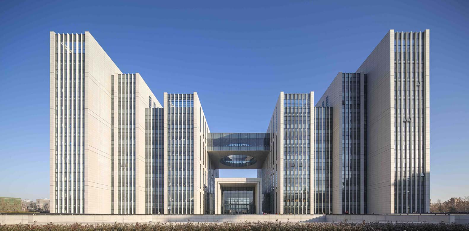 طراحی کتابخانه دانشگاه Shandong