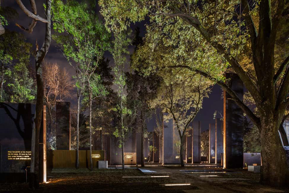 طراحی بنای یادبود به قربانیان خشونت در مکزیک ؛ معماران Gaeta Springall