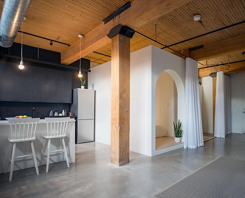 طراحی اتاقک در آپارتمان