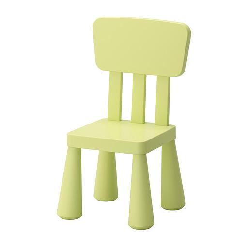 صندلی کودک سبز ایکیا مدل MAMMUT