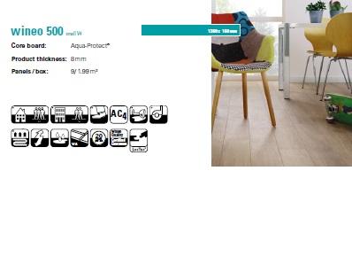 پارکت لمینت وینئو اسمال WINEO 500 SMALL V4