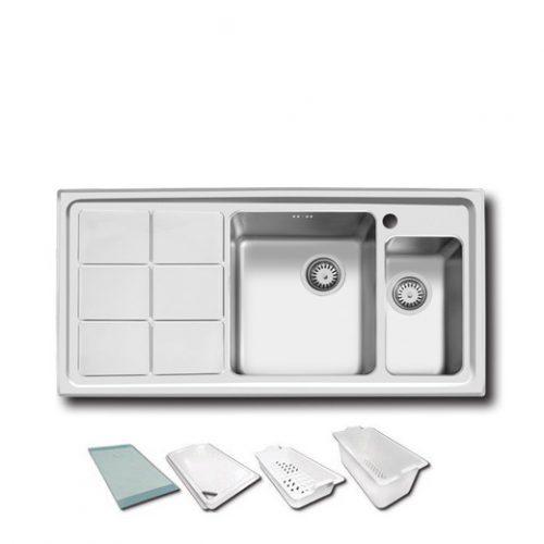 سینک ظرفشویی اخوان مدل 310s