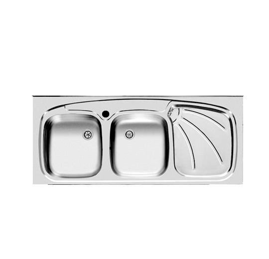 سینک ظرفشویی اخوان مدل 127