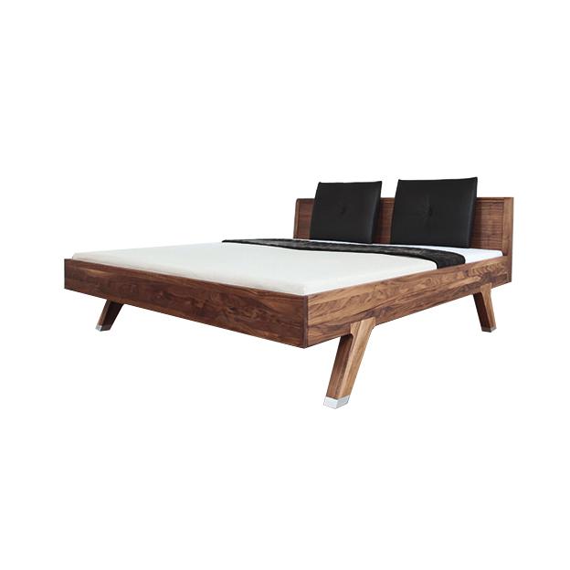 تخت خواب دونفره چوبی مدل Break