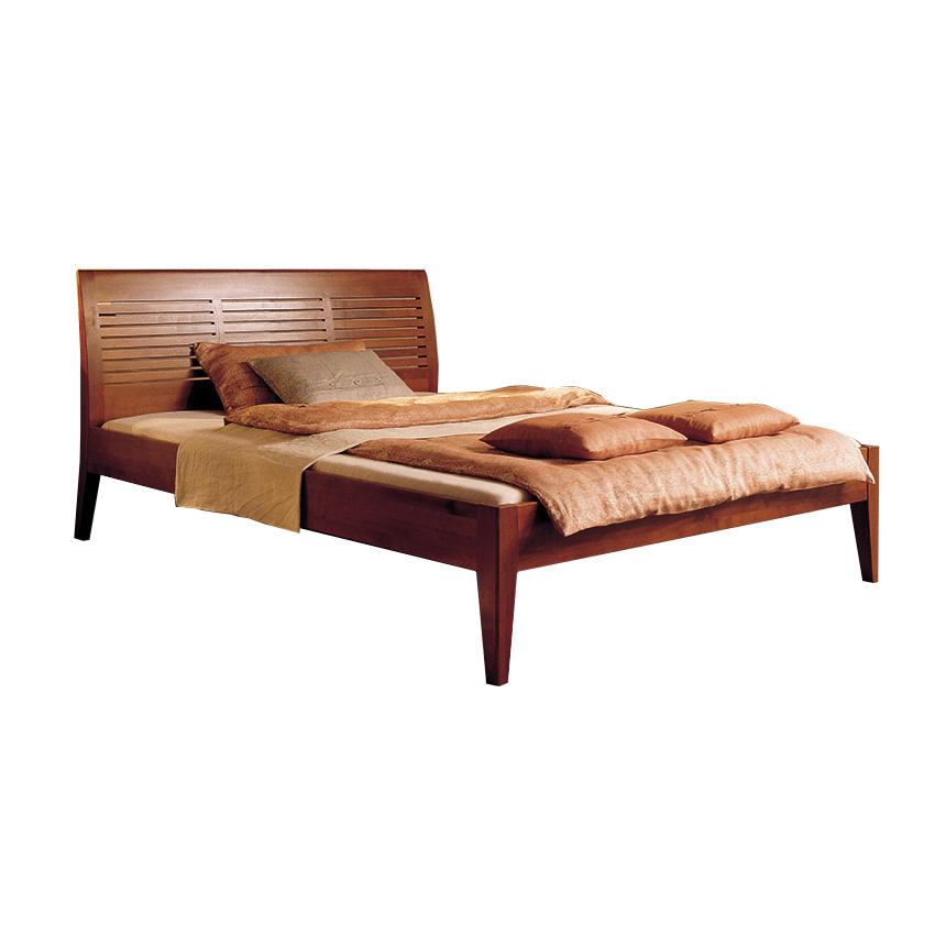 تخت خواب دونفره چوبی مدل Cosiamo