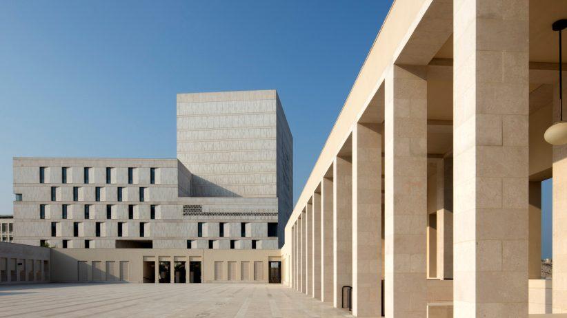 ساختمان آرشیو ملی قطر با معماری بومی