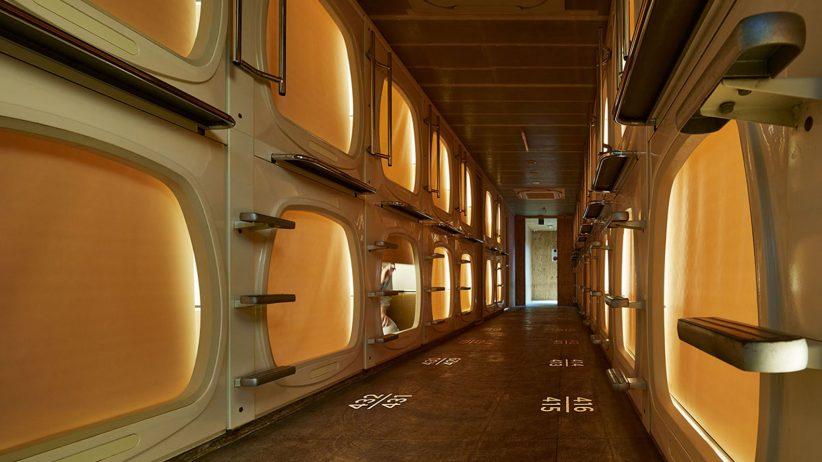 طراحی داخلی و بازسازی هتل کپسولی | پویانو