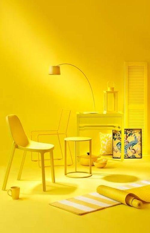 کاربرد رنگ زرد در منزل | دکوراسیون پویانو