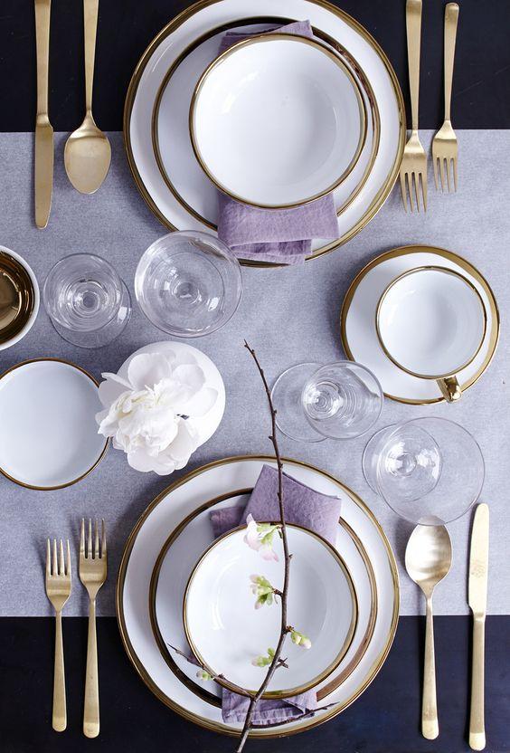 چیدمان میز غذاخوری