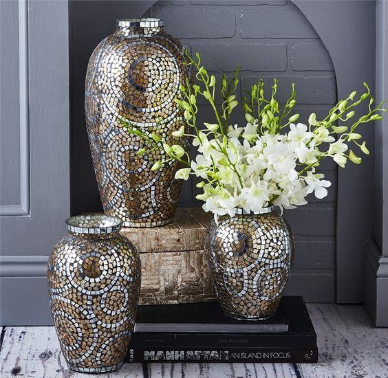 ست کردن گلدان ها در سایز های مختلف