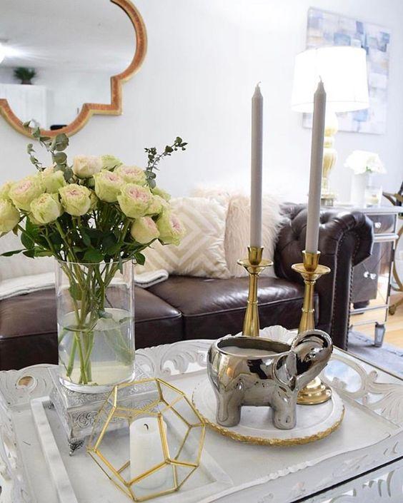 تزئین گلدان ها با روش های مختلف  گلدان ها با گل های طبیعی