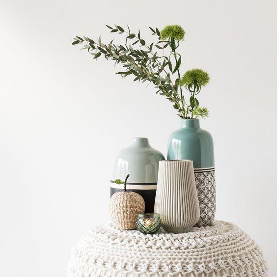 انواع مدل گلدان رومیزی جدید در دکوراسیون داخلی منزل