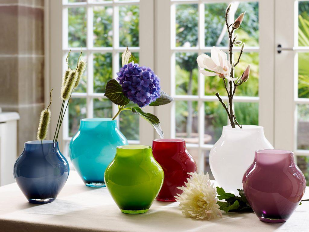 انواع مدل گلدان رومیزی جدید رنگارنگ