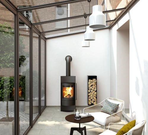 بالکن شیشه ای برای طراحی داخلی