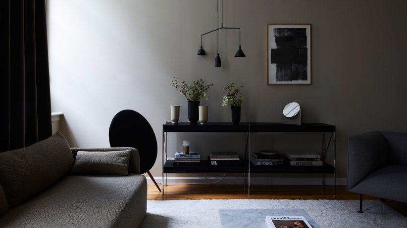 چیدمان آپارتمان با نمایش محصولات Menu