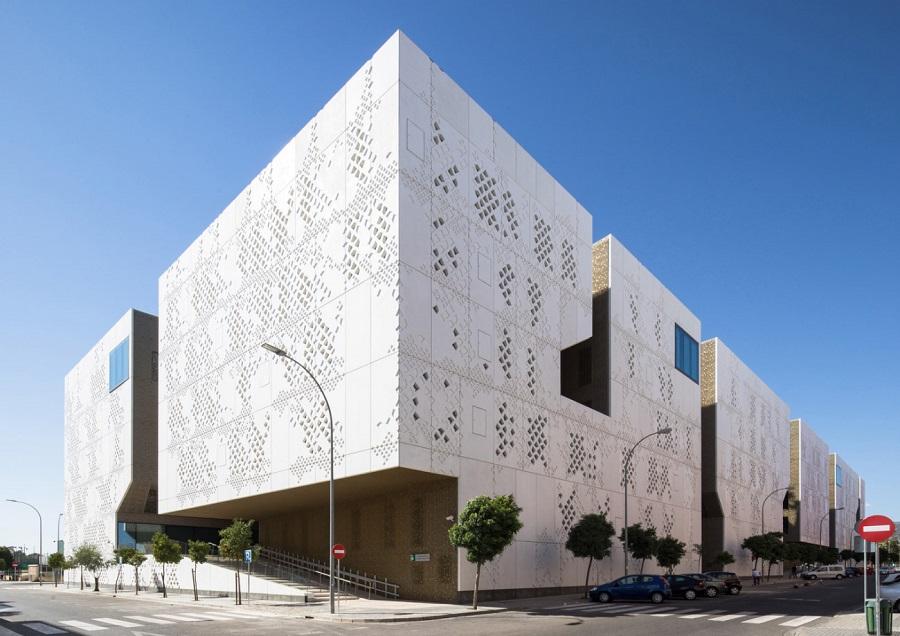 الگوهای مدرن نمای ساختمان