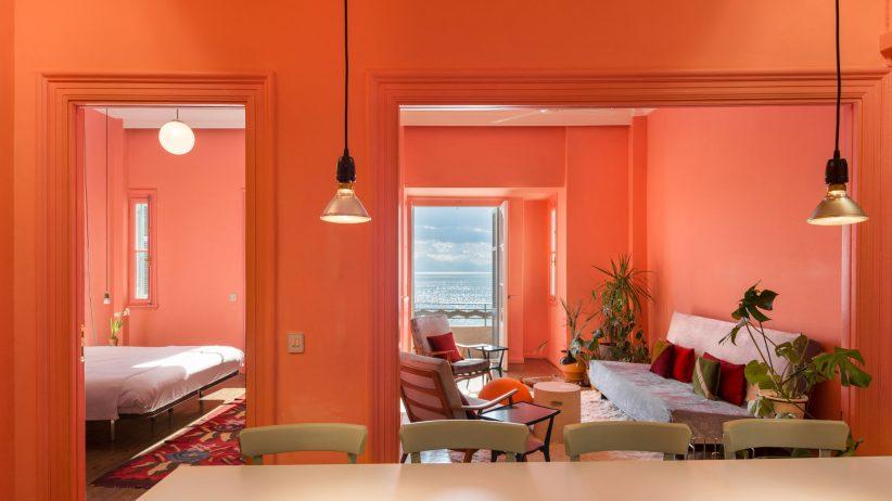 طراحی داخلی آپارتمان ساحلی