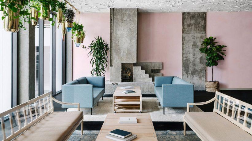 طراحی داخلی هتل Line Austin