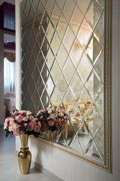 استفاده از آینه در طراحی داخلی
