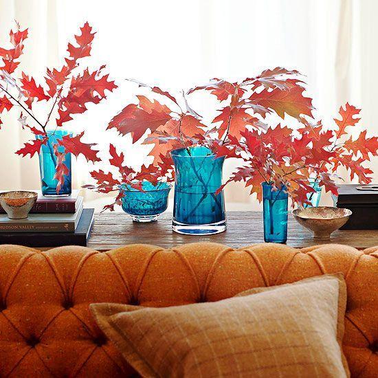 رنگ پاییزی در دکوراسیون داخلی