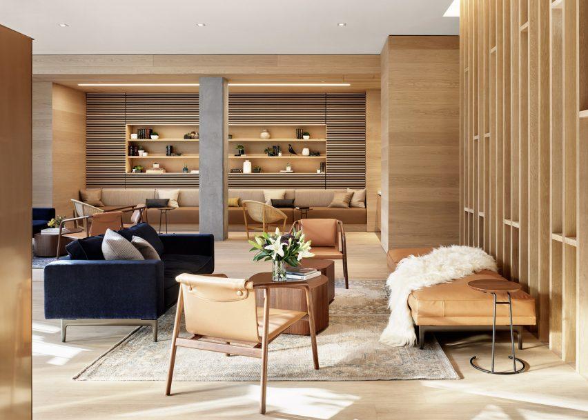 طراحی فضاهای داخلی ساختمان مسکونی آستین