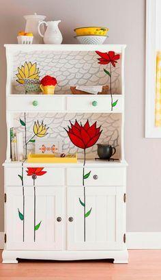 رنگ کردن مبلمان در خانه