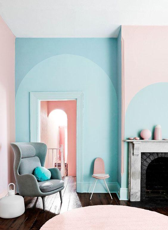 رنگ های پاستلی در طراحی داخلی