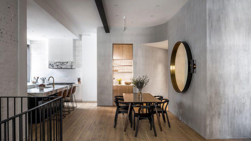 بازسازی آپارتمان با مصالح کلاسیک