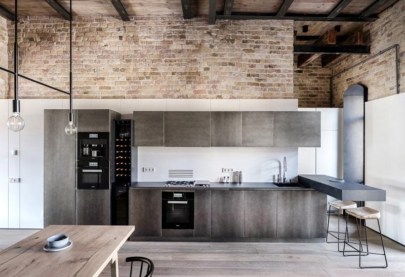 طراحی داخلی آپارتمان PUSHKA