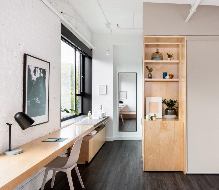 طراحی فضای داخلی هتل Annex