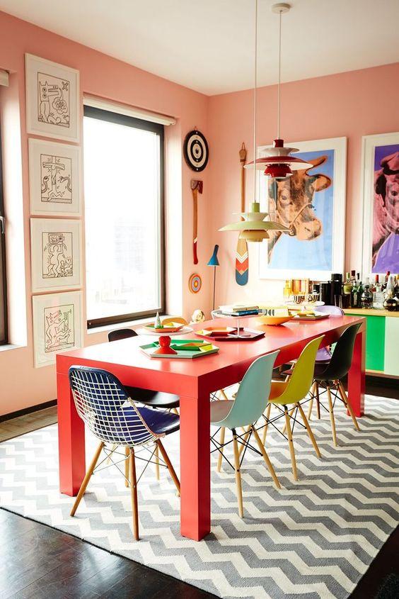 استفاده از رنگ در طراحی داخلی