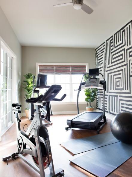اتاق ورزش خانگی