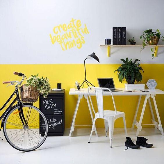 استفاده از ترکیب رنگی در دیوار ها