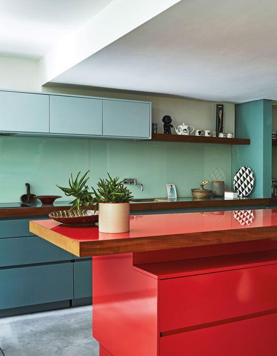 انتخاب رنگ کابینت آشپزخانه