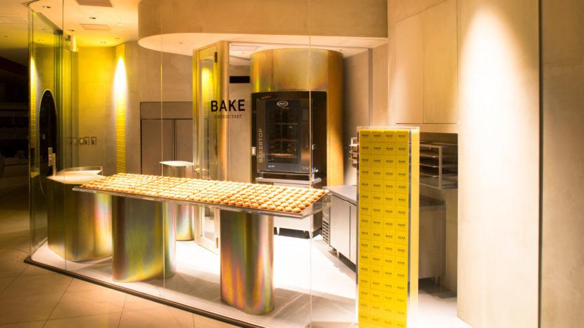 طراحی داخلی فروشگاه پخت تارت پنیر