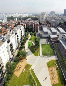 طراحی پارک Asnières Residential