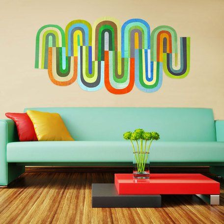 هماهنگی رنگ دیوار ها و مبلمان