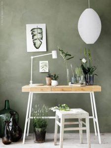 تنالیته رنگ سبز در طراحی داخلی