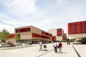 طراحی محوطه دانشگاه