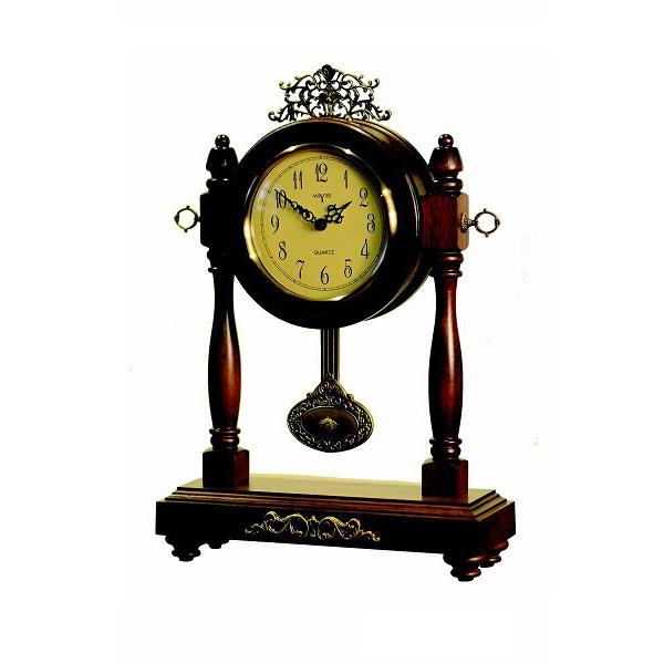 ساعت رومیزی چوبی والتر مدل 328