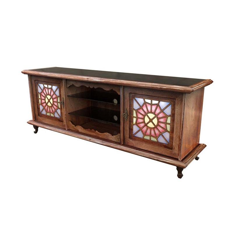 میز تلویزیون چوبی سنتی برتاریو مدل CM 162