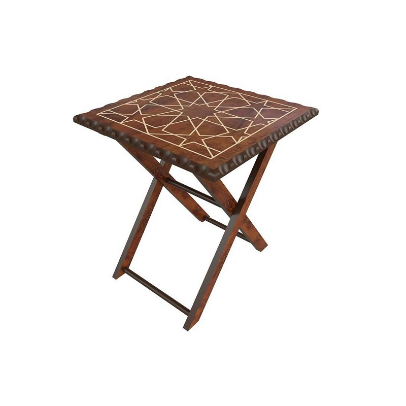 میز تاشو عسلی جلومبلی برتاریو مدل CLASSIC-ST