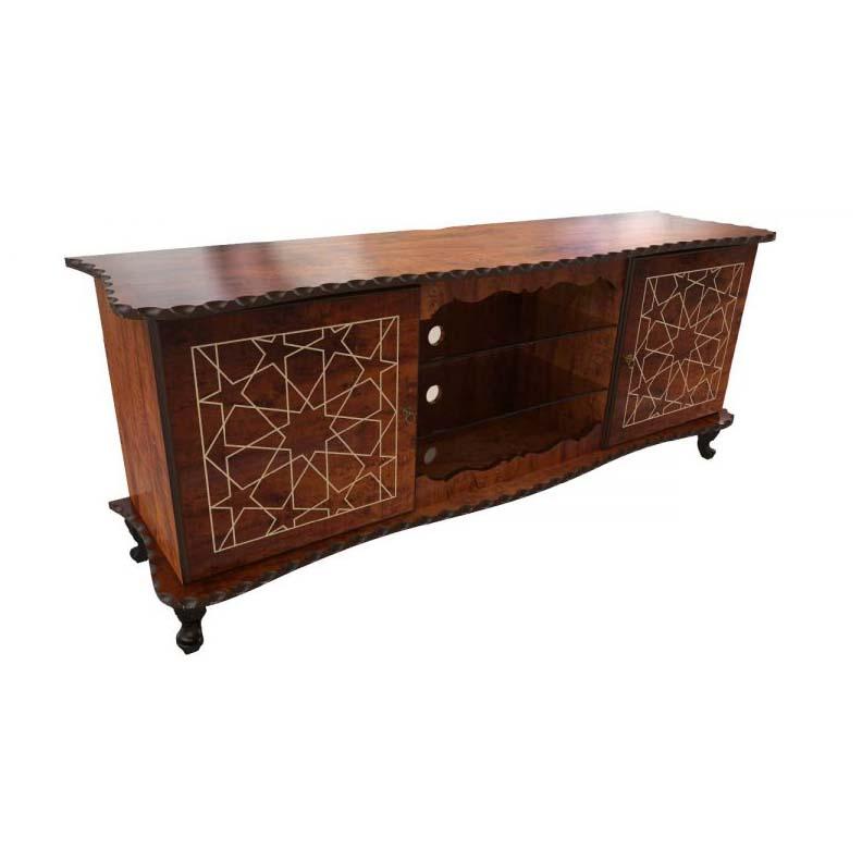 میز تلویزیون چوبی برتاریو مدل کلاسیک