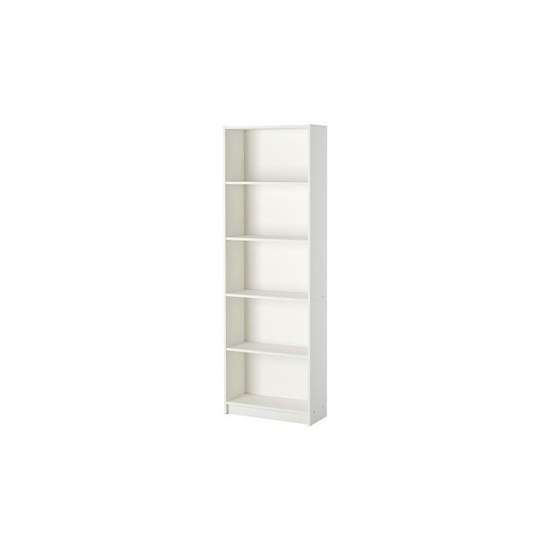 کتابخانه چوبی پنج طبقه سفید ایکیا مدل GERSBY