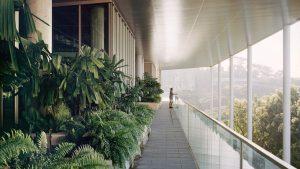طراحی ساختمان و محیط دانشگاه ملی سنگاپور