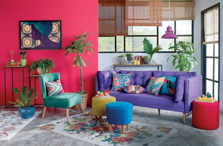 ایجاد یک تاثیر بصری با ترکیب فرش ها با طراحی داخلی مختلف