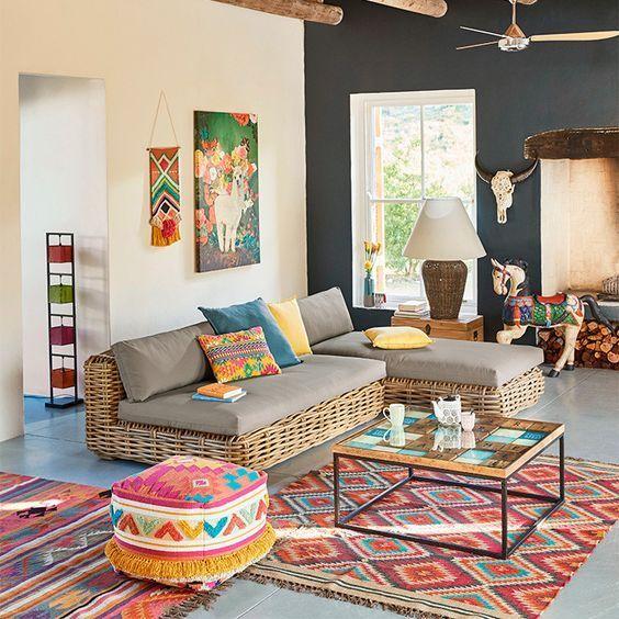 اگر دچار تردید هستید تمام فرش ها را در یک رنگ انتخاب کنید