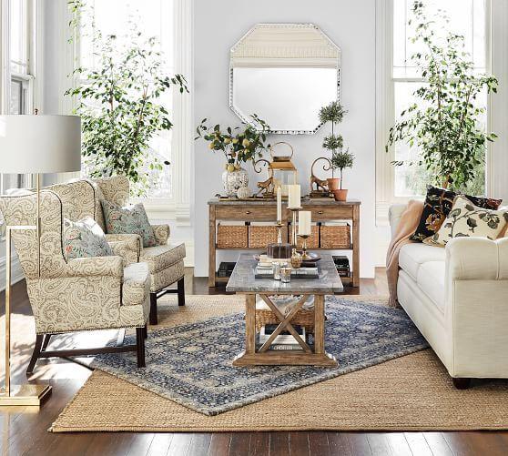 استفاده از چندین فرش در طراحی داخلی