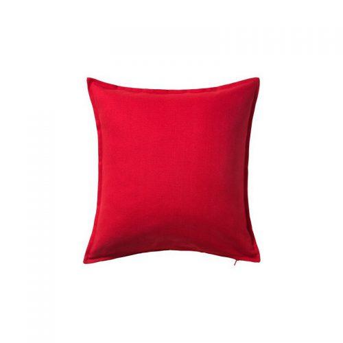 کاور کوسن ساده ایکیا 50*50 قرمز مدل GURLI